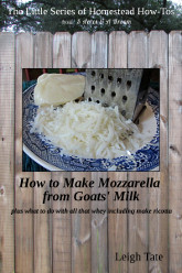 How to Make Mozzarella from Goats' Milk