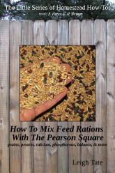 How To Mix Your Own Feed Rations With The Pearson Square
