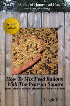 How To Mix Feed Rations with the Pearson Square